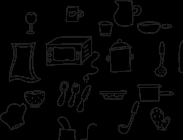Vhodné vybavení do kuchyně